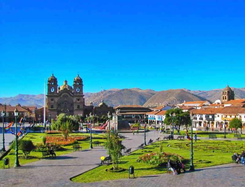 Перу - Куско - Плаза де Армас