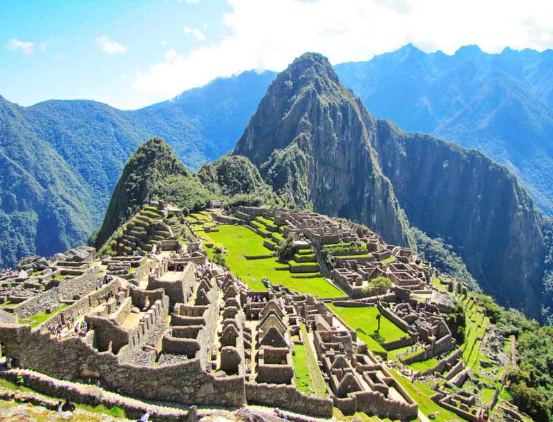 Мачу Пикчу - затерянный город Инков - Перу