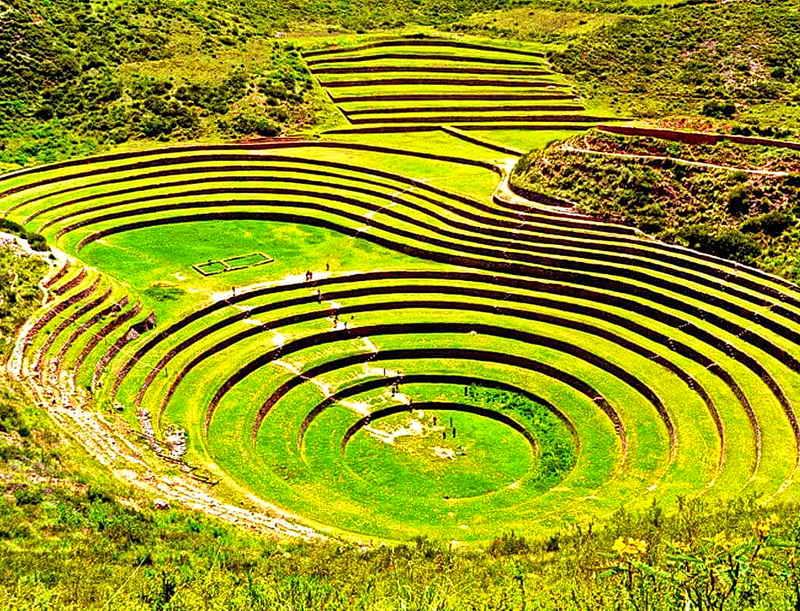 Террасы Морай в Перу