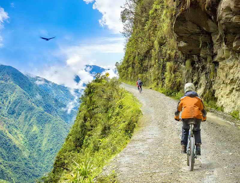 Дорога смерти - Ла Паз - Боливия