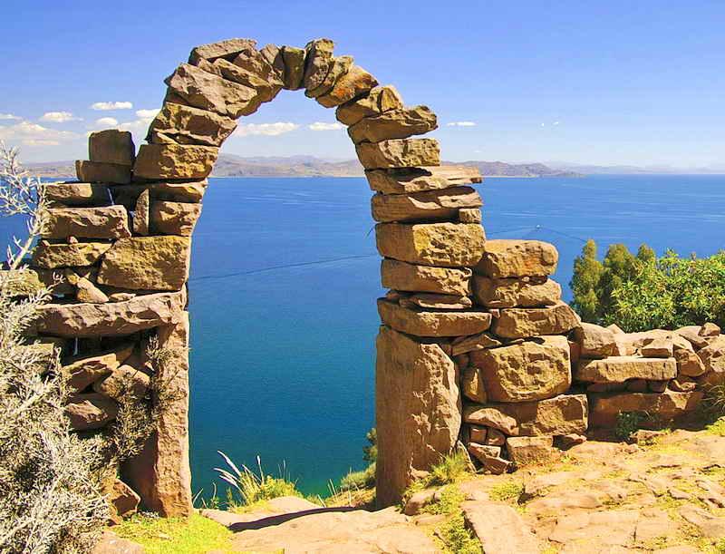 Пуно - озеро Титикака - Перу