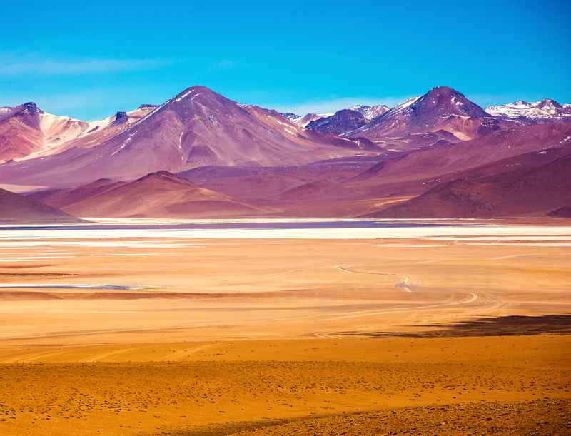 Пустыня Дали - Боливия